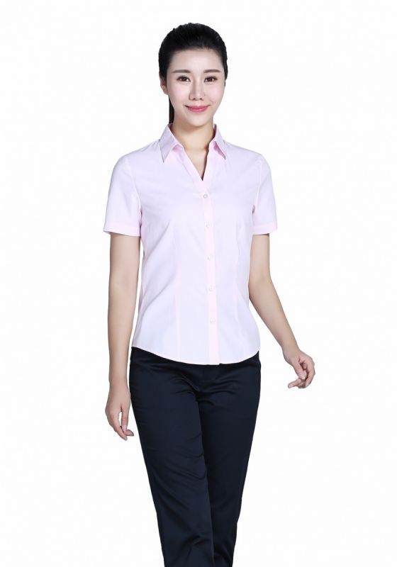 衬衫粉色女