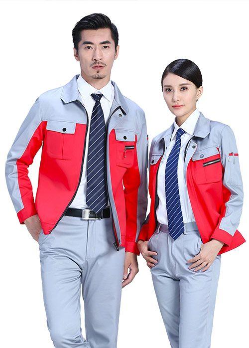 长袖工作服的颜色搭配技巧